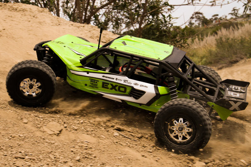 Axial Exo Tire : Axial racing exo th scale electric wd terra buggy