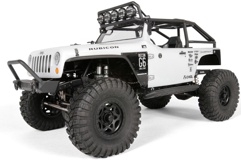 Axial racing scx10 jeep wrangler g6 1 10th scale electric 4wd kit
