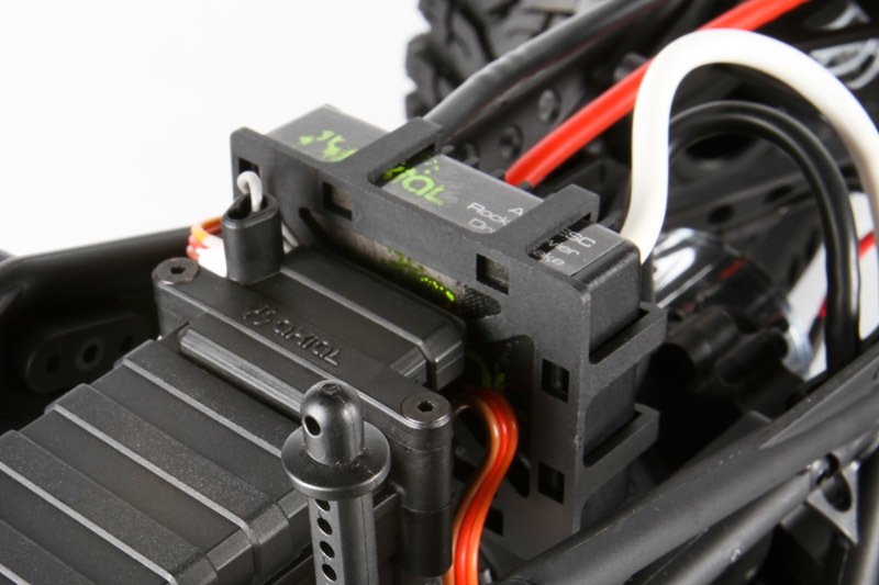 Axial Racing - AX10™ Deadbolt 1/10 Scale Electric 4WD - RTR on axial rx, axial fan, axial a&e 2 specs, axial brushless motor, axial speed control,