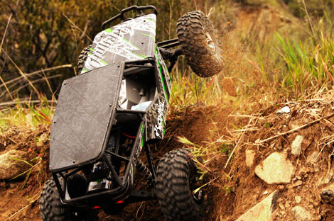 wraith image 04 470 Axial Wraith Rock Racer (1/10 Scale Electric 4WD)