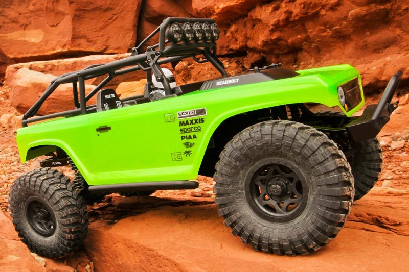 Axial Racing - SCX10™ Deadbolt™ 1/10th Scale Electric 4WD - RTR