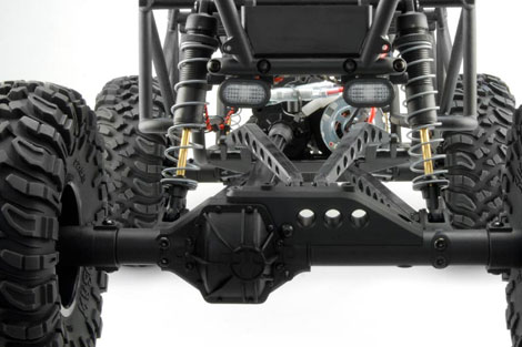rear axle 470 Axial Wraith Rock Racer (1/10 Scale Electric 4WD)