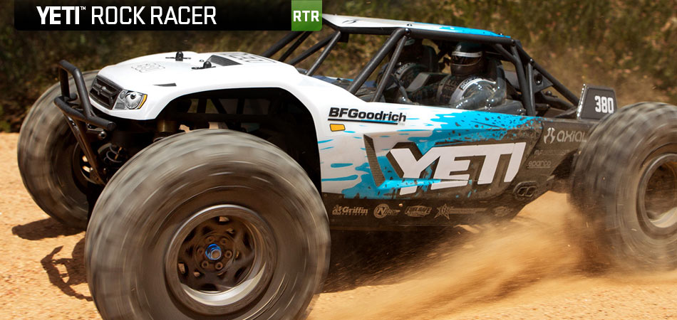 axial racing yeti 1 10th scale electric 4wd rtr