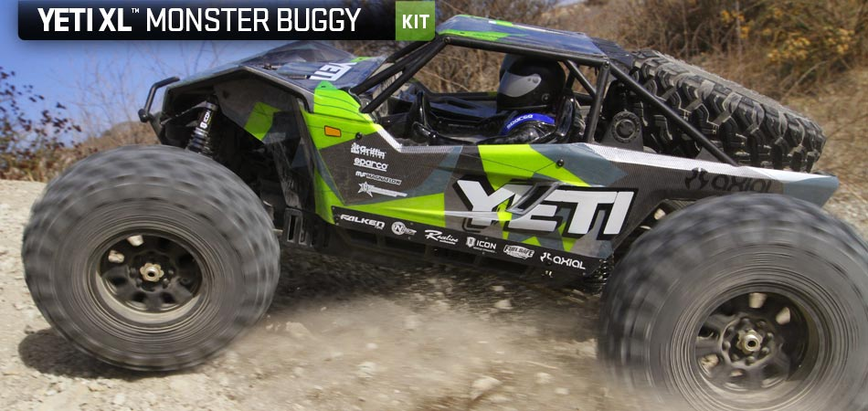 axial racing yeti xl 1 8th scale electric 4wd kit
