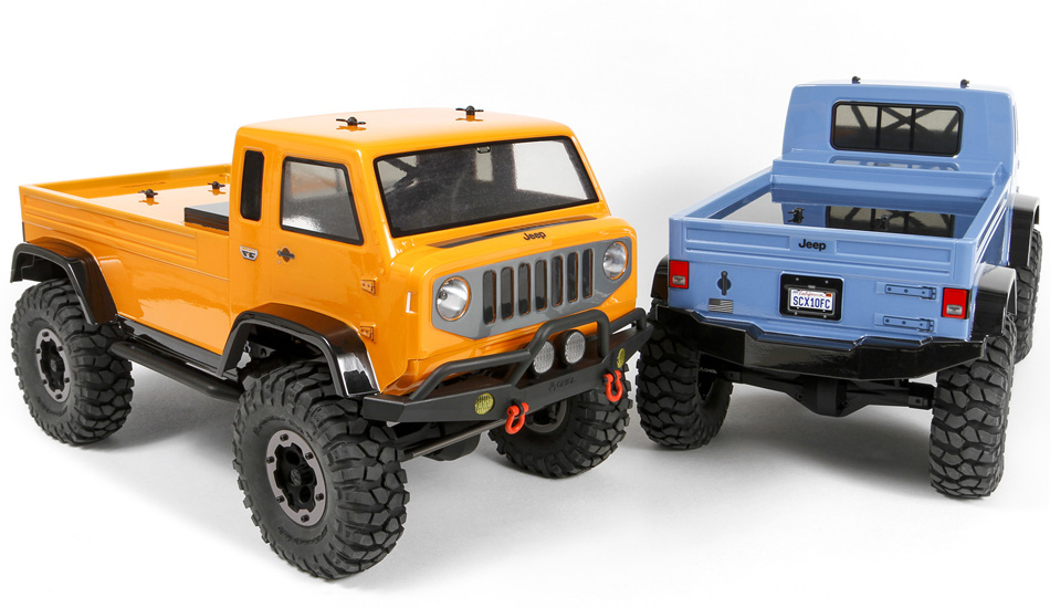 Axial Racing Jeep Mighty Fc Body 040 Quot Clear