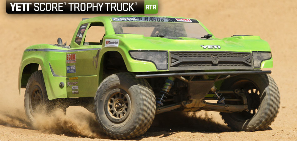 Axial Racing Yeti™ Score® Trophy Truck® 110 Scale Electric 4wd Rtrrhaxialracing: Off Road Trophy Truck Wiring Diagram At Elf-jo.com