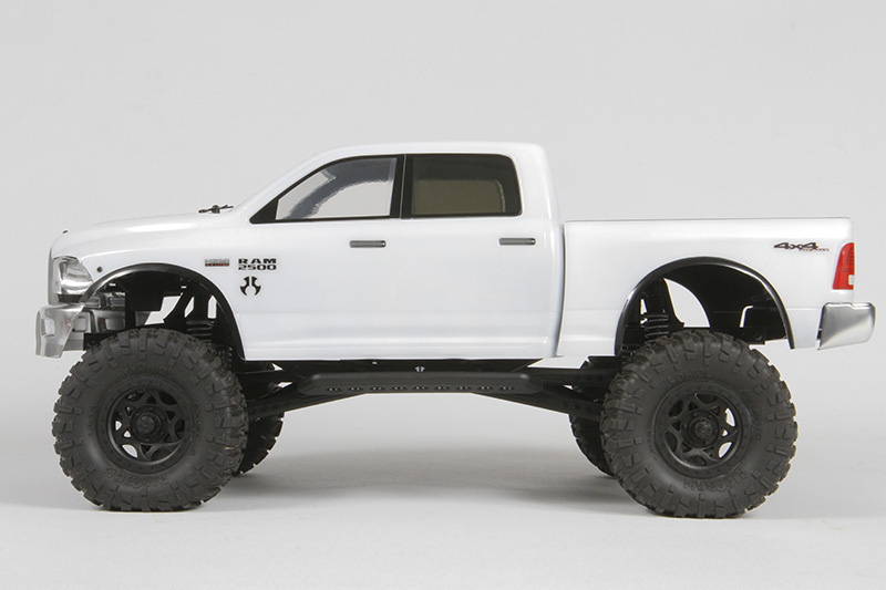 axial racing 2015 ram 2500 power wagon body 040 clear. Black Bedroom Furniture Sets. Home Design Ideas