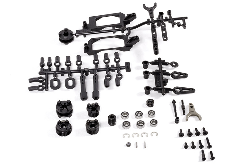 Axial Racing - 2-Speed Hi/Lo Transmission Components