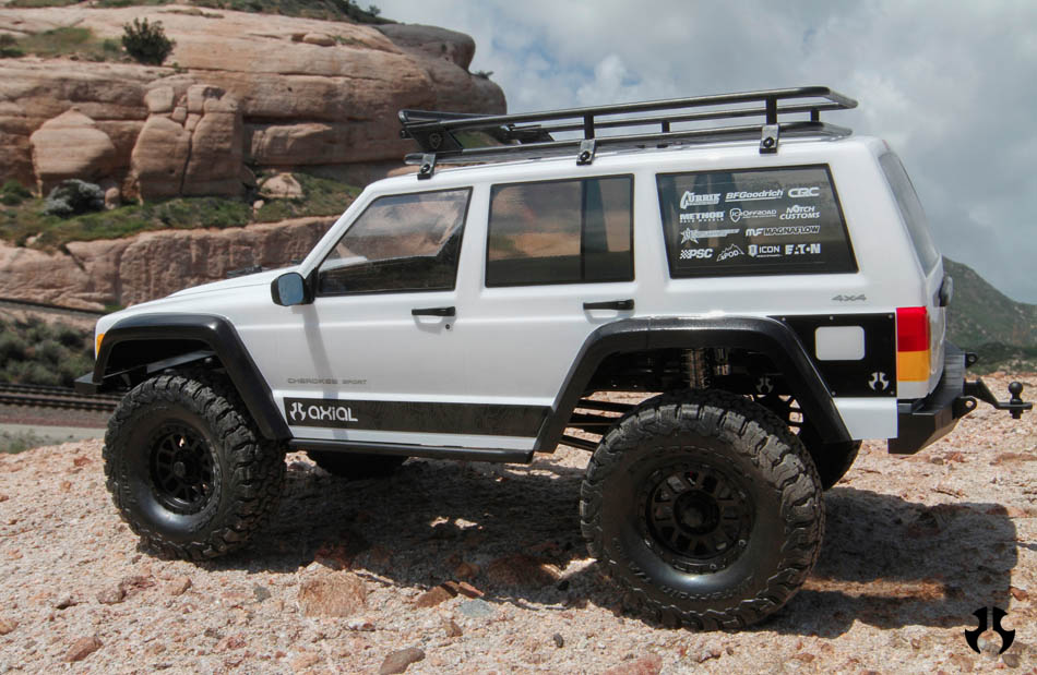 Axial Racing - SCX10 II™ 2000 Jeep® Cherokee 1/10th Scale Electric