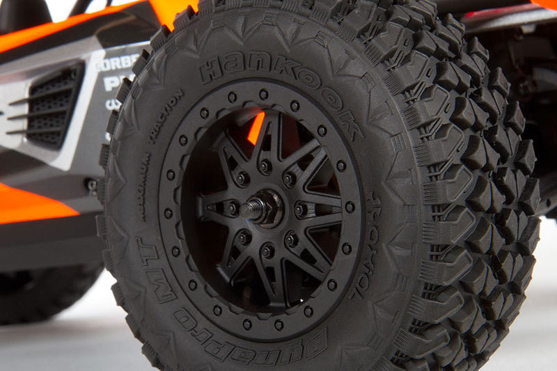 exo feature 06 hankook dynapro mt tires 800x533 Axial EXO 1/10th Scale Electric 4WD Terra Buggy  Kit