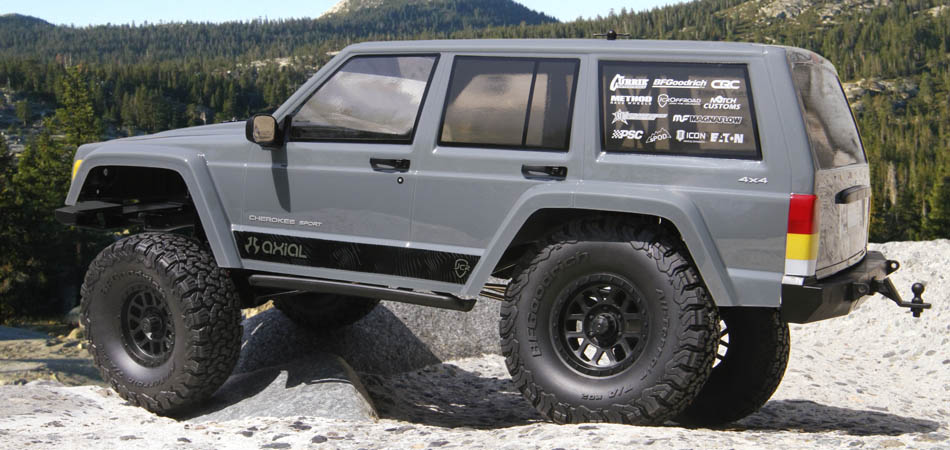 Axial Racing - SCX10 II™ 2000 Jeep® Cherokee 1/10th Scale