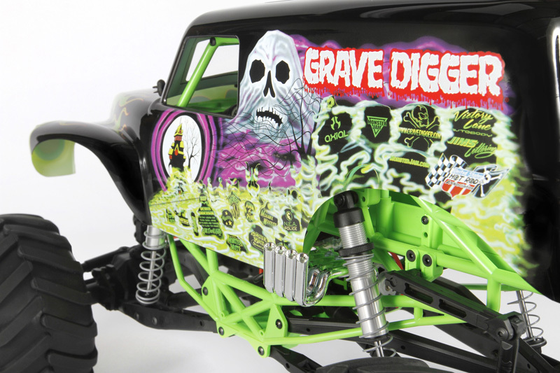 Axial Racing - SMT10™ Grave Digger Monster Jam Truck 1/10th