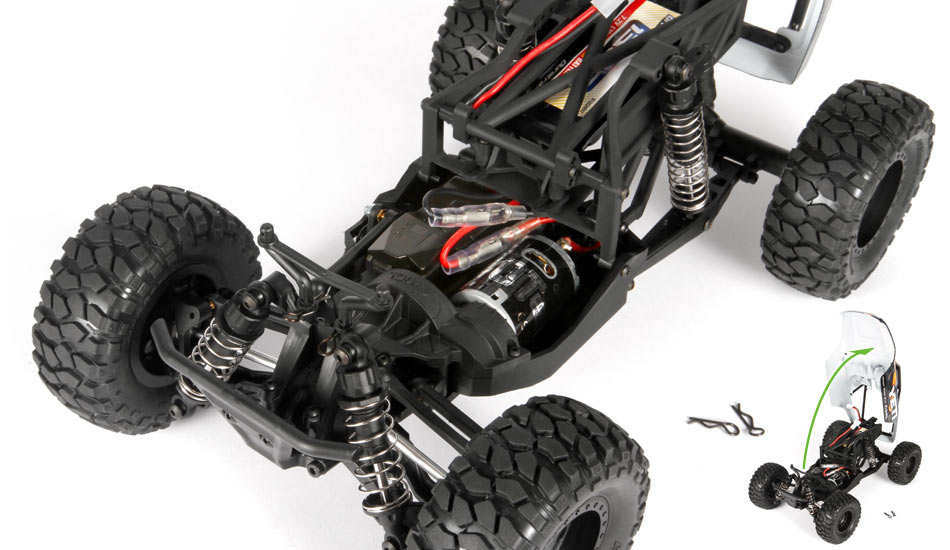 Axial Racing - Yeti Jr ™ 1/18th Scale Electric 4WD - RTR