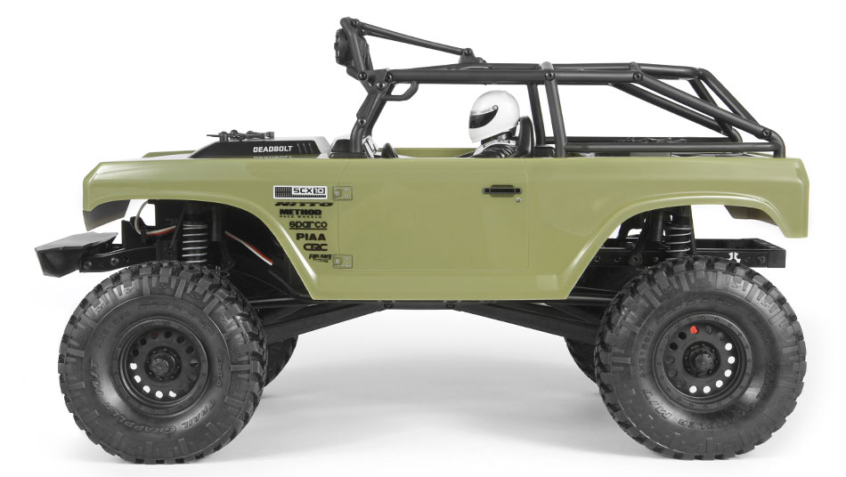 Axial Racing - SCX10 II™ Deadbolt™ 1/10th Scale Electric 4WD
