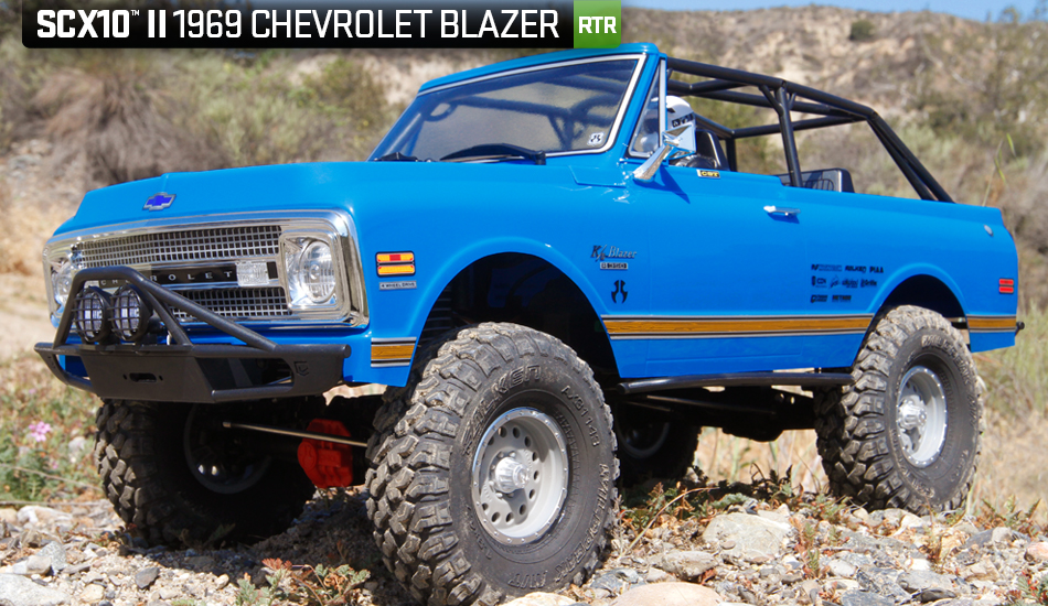 Axial Racing - SCX10 II™ 1969 Chevrolet Blazer 1/10th Scale Electric
