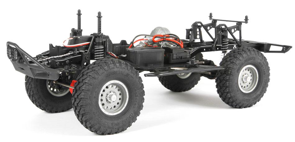 Axial SCX10 II 1969 Chevrolet Blazer RTR Ax90058_chassis_950px