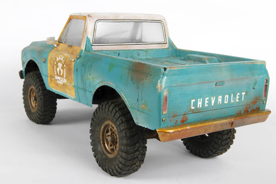 Axial 67 Chevy C//10 Body .040 Uncut Clear SCX10 AXI31498