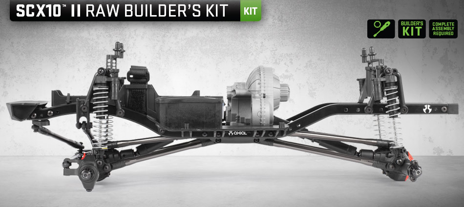 Axial Racing - SCX10 II™ Raw Builders Kit