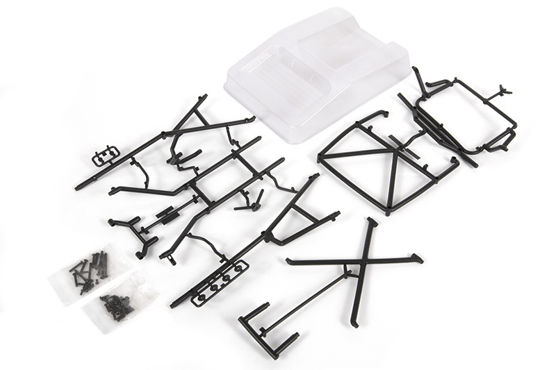 Axial Racing 1955 Ford Front Tube Bumper /& Alum Plate AXI230009